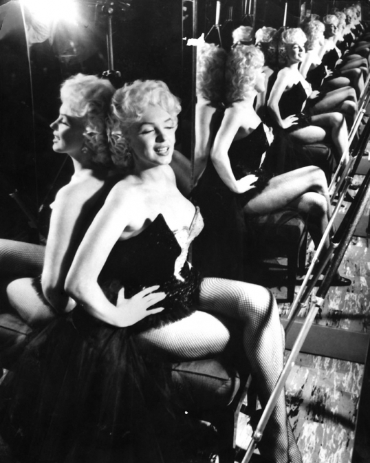 Marilyn in the Mirror I 50s
