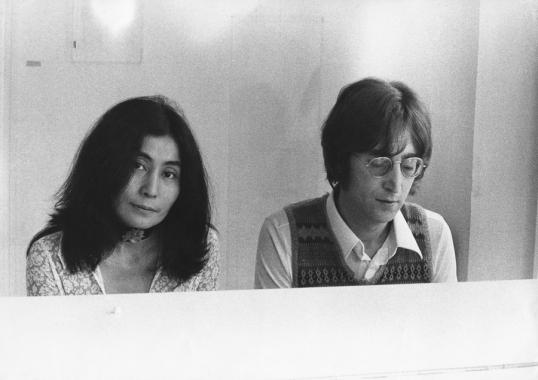 John & Yoko I early 70s
