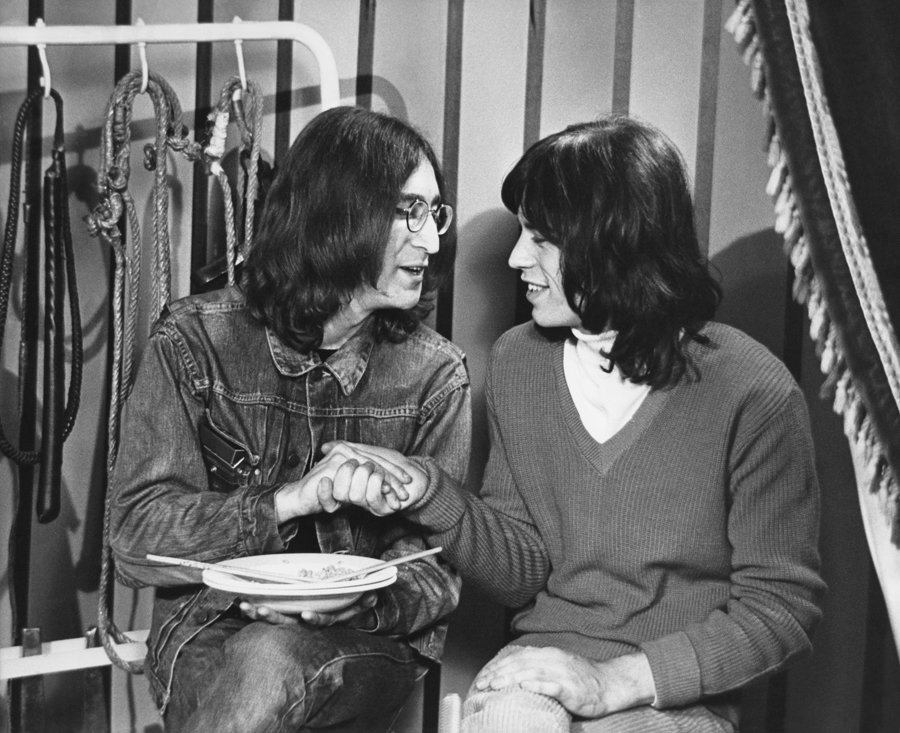 John Lennon Amp Mick Jagger I Rock And Roll Circus 1968
